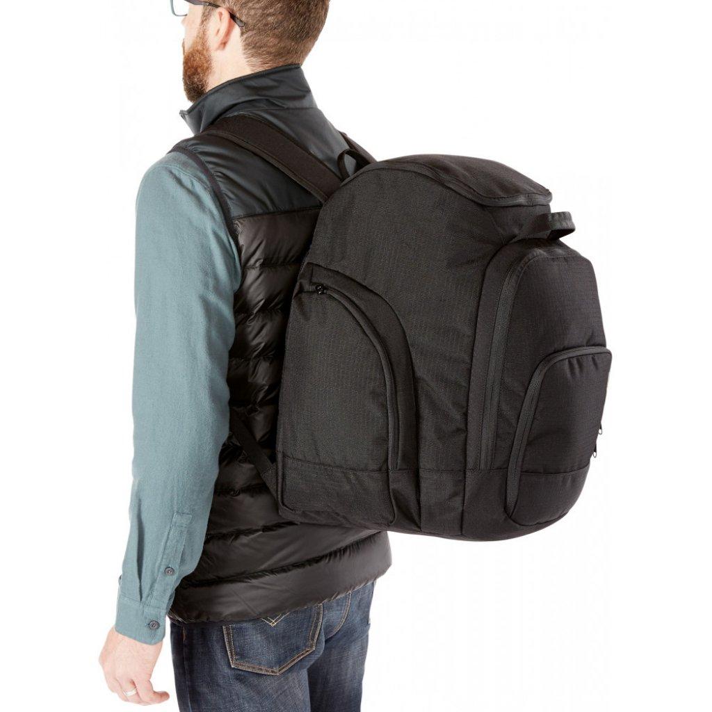 taška Dakine Boot Pack DLX 55L Black