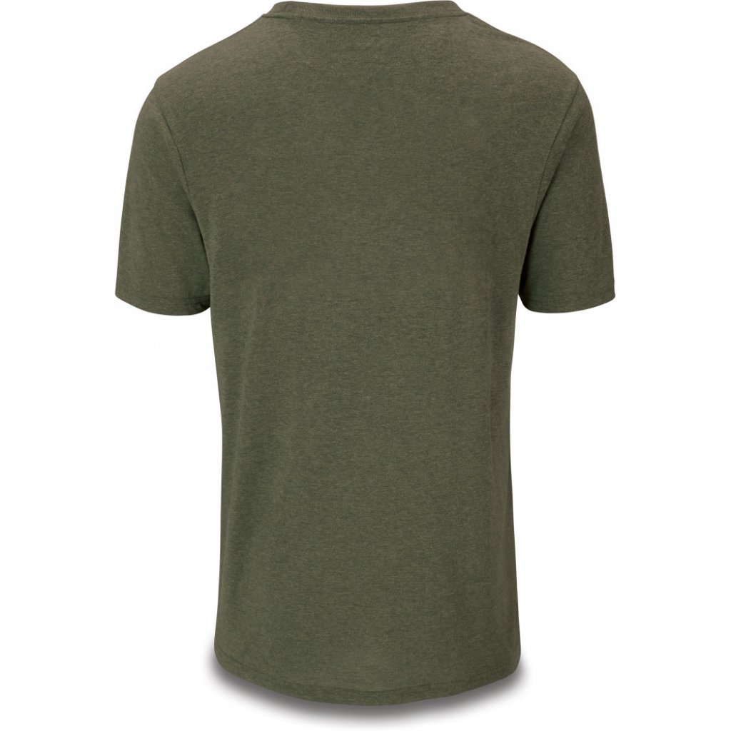 triko Dakine Da Rail Dark Olive Heather Tech T