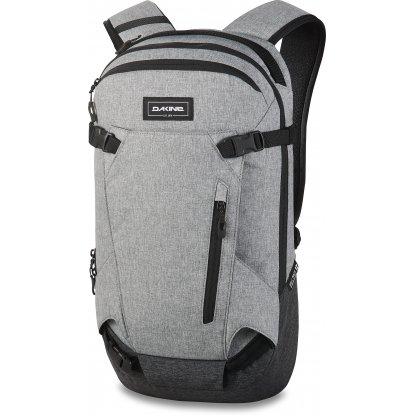 batoh Dakine Heli Pack 12L Greyscale