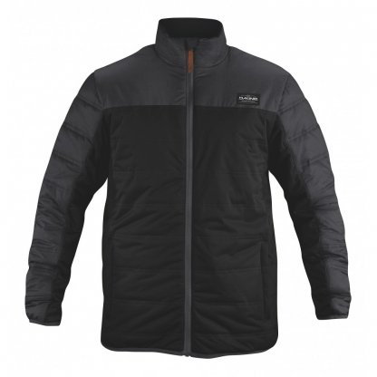 bunda Dakine Mens Float Jacket Black / Black Melange