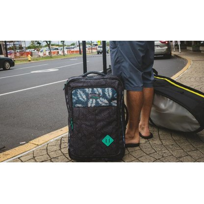 cestovní taška Dakine Carry On Roller 42L Woodrose