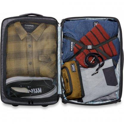 cestovní taška Dakine Carry On Roller 42L Carbon 2020