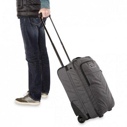 cestovní taška Dakine Carry On Roller 42L Cyan Scribble