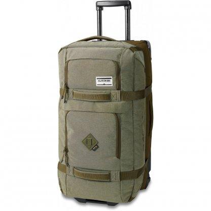 cestovní taška Dakine Split roller 85L R2R Olive