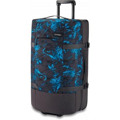 cestovní taška Dakine Split roller EQ 100L Cyan Scribble