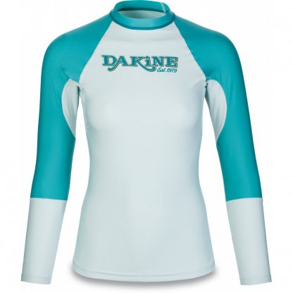 dámské tričko do vody Dakine Flow Snug Fit L/S Bay Islands