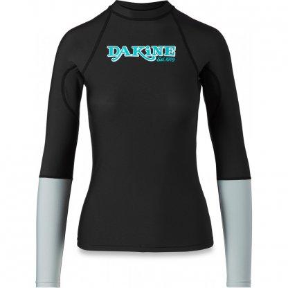 dámské tričko do vody Dakine Flow Snug Fit L/S Black