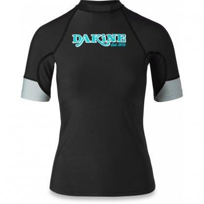 dámské tričko do vody Dakine Flow Snug Fit S/S Black