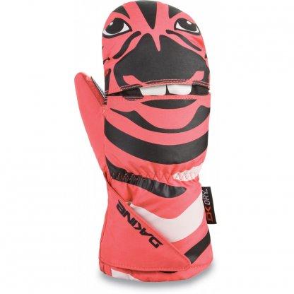 dětské rukavice Dakine Scrambler Mitt Zebra