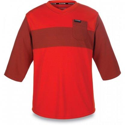 dres Dakine Kids Vectra Jersey 3/4 rukáv Blaze / Red Rock