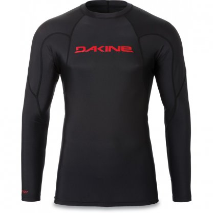 pánské tričko do vody Dakine Heavy Duty Snug Fit LS Black