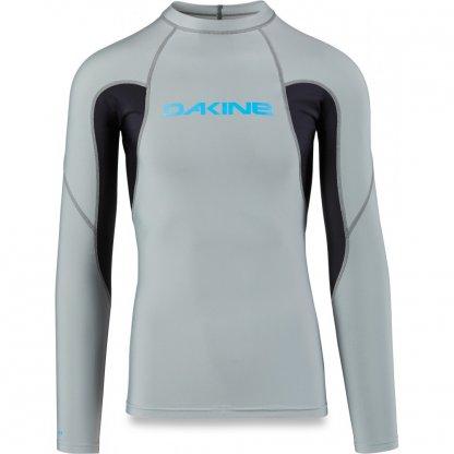 pánské tričko do vody Dakine Heavy Duty Snug Fit LS Carbon