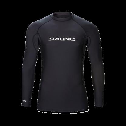 pánské tričko do vody Dakine Heavy Duty Snug Fit LSL Black