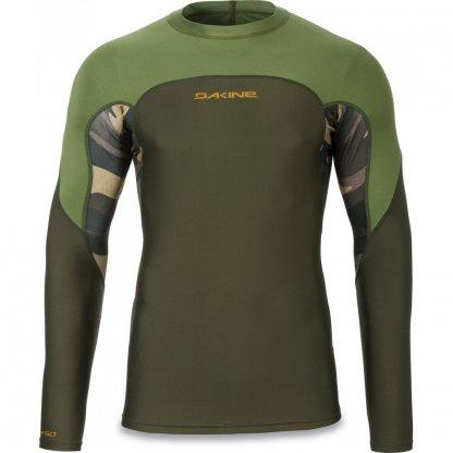 pánské tričko do vody Dakine Wrath Snug Fit LS Field Camo