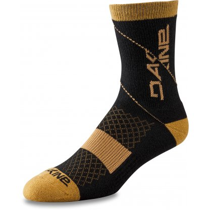 ponožky Dakine Berm Crew Black / Tan