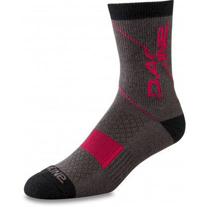 ponožky Dakine Berm Crew Grey / Red