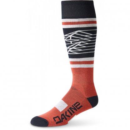 ponožky Dakine Mens Freeride Tandoori Spice/Black