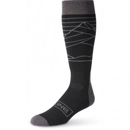 ponožky Dakine Mens Summit Black/Charcoal