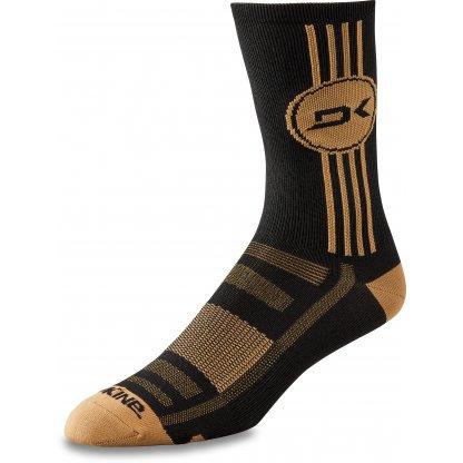 ponožky Dakine Singletrack Crew Black / Tan