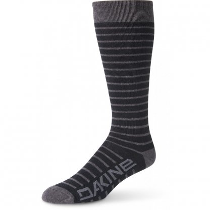 ponožky Dakine Womens Thinline Black/Charcoal