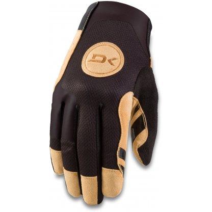 rukavice na kolo Dakine Covert Black Tan