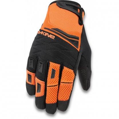 rukavice na kolo Dakine Cross X Vibrant Orange