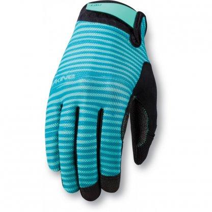 rukavice na kolo Dakine Womens Aura Aqua Green