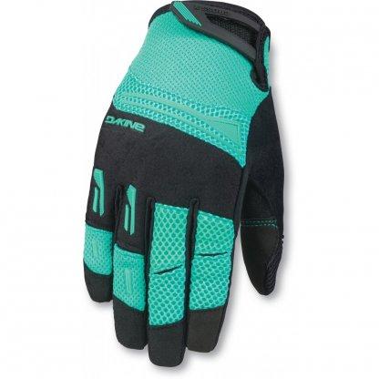 rukavice na kolo Dakine Womens Cross X Aquagreen