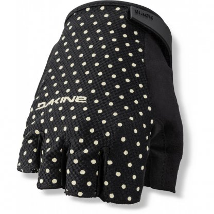 rukavice na kolo Dakine Womens Novis 1/2 finger Black Dotty