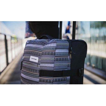 cestovní taška Dakine Split roller EQ 100L Carbon