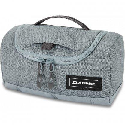 toaletní taška Dakine Revival Kit M Lead Blue
