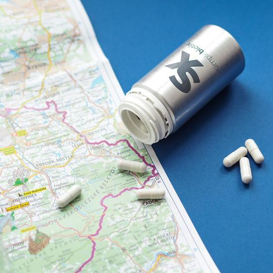 Cestování + Simplebiotix = Vyvážený tandem 2