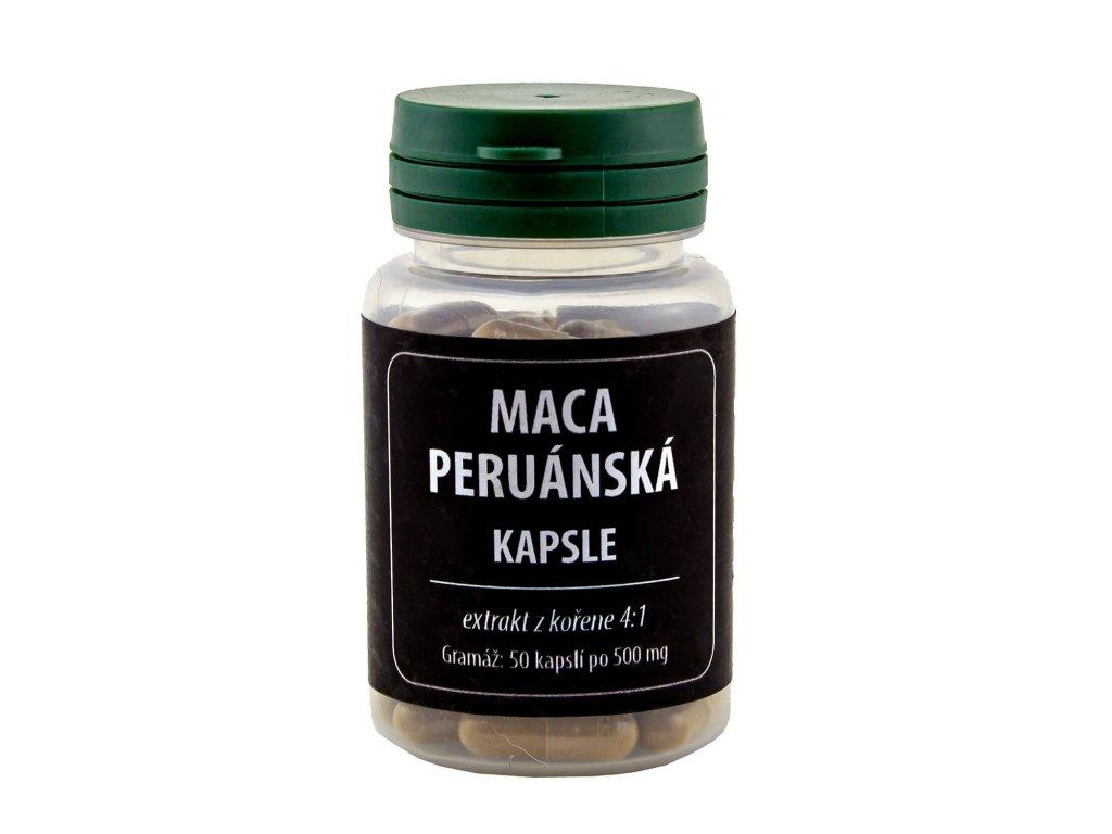 Maca peruánská 50 kapslí