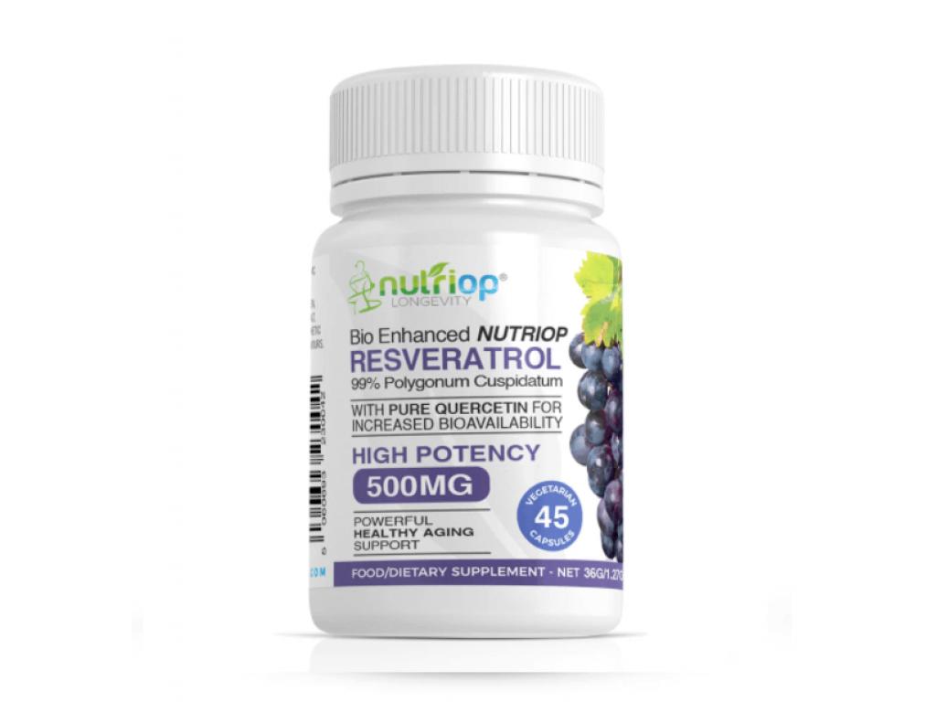 Resveratrol s Quercetinem 500 mg