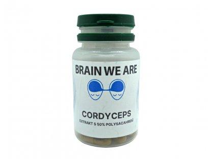 Brain We Are - Cordyceps 50x550mg extrakt