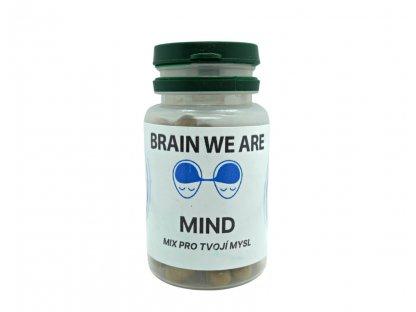 Brain We Are MIND - Mix pro tvojí mysl 50 kapslí