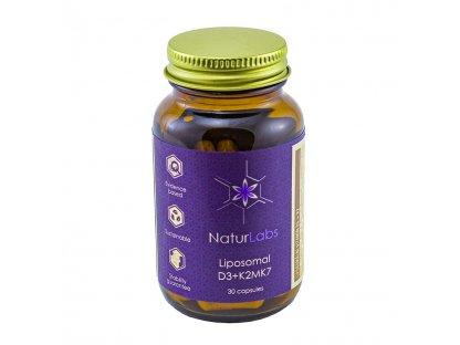 Lipozomální Vitamín D3 + K2 30 kapslí