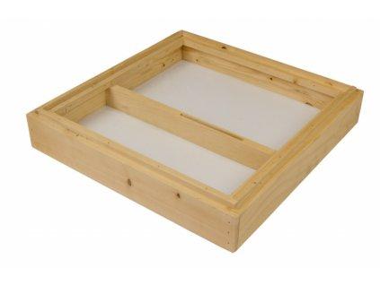 Krmítko dřevo 11 rámků 39x24