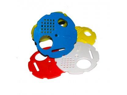 Kruhový česnový uzávěr 80 mm, barevný