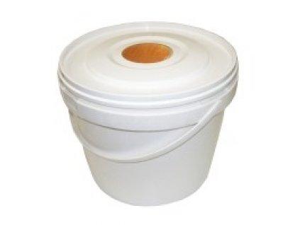 Plastové krmítko kyblík, 5 l