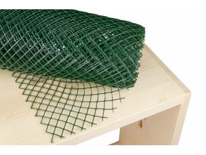 Polynet, pletivo zelené, oko 10mm, šíře 80cm