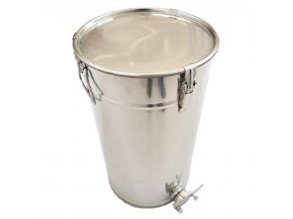 Stáčecí nádoba na med nerez, nerez ventil, 100kg, SB