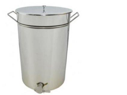 Stáčecí nádoba na med, nerez ventil, 70l (95kg), Lysoň