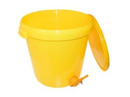 Stáčecí nádoba na med plast 25 kg nebo 40 kg
