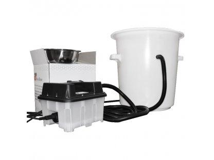 Vařák na vosk a vyvíječ páry 2KW, elektrický plast