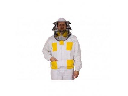 Včelařská bunda barevná s kloboukem