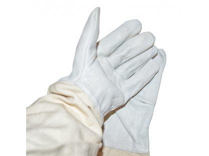 Včelařské rukavice, kozinka