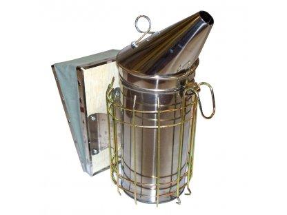 Včelařský dýmák velký (Holtermann), nerez (max)