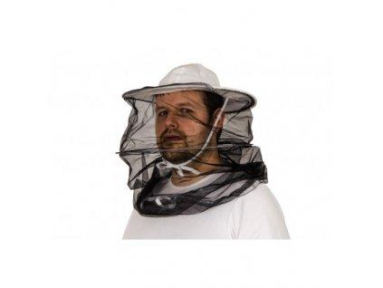 Včelařský klobouk Normal, černá síťka