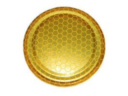 Víčko na sklenici na med - plást